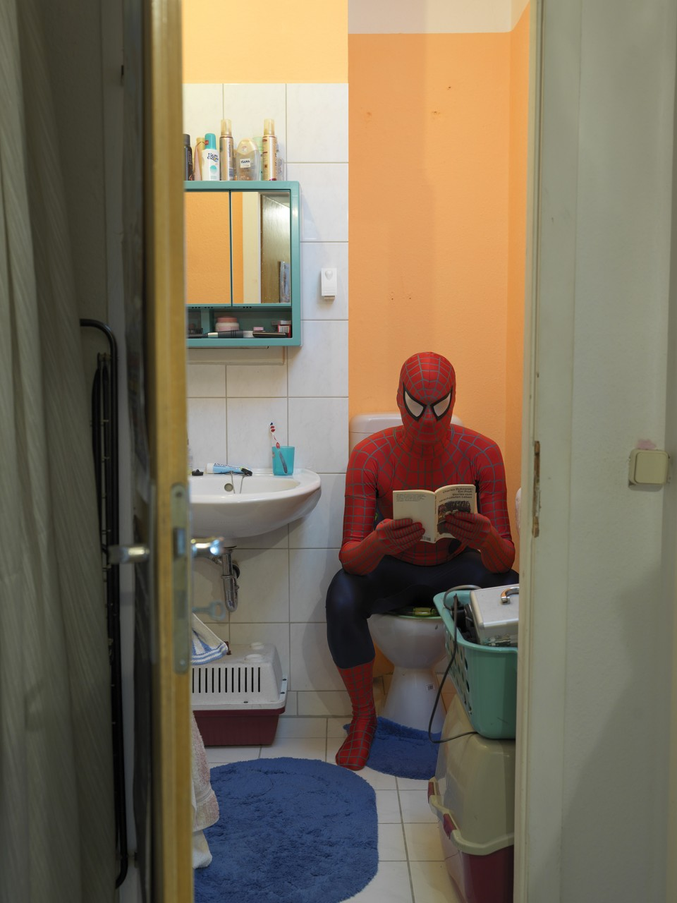Spiderman Zuhause