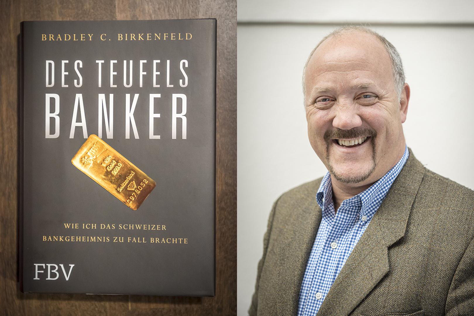 """Bradley Charles Birkenfeld, 52, US-amerikanischer Bankmanager und """"Whistleblower"""", am Berliner Kurfürstendamm. Berlin, 05.04.2017"""