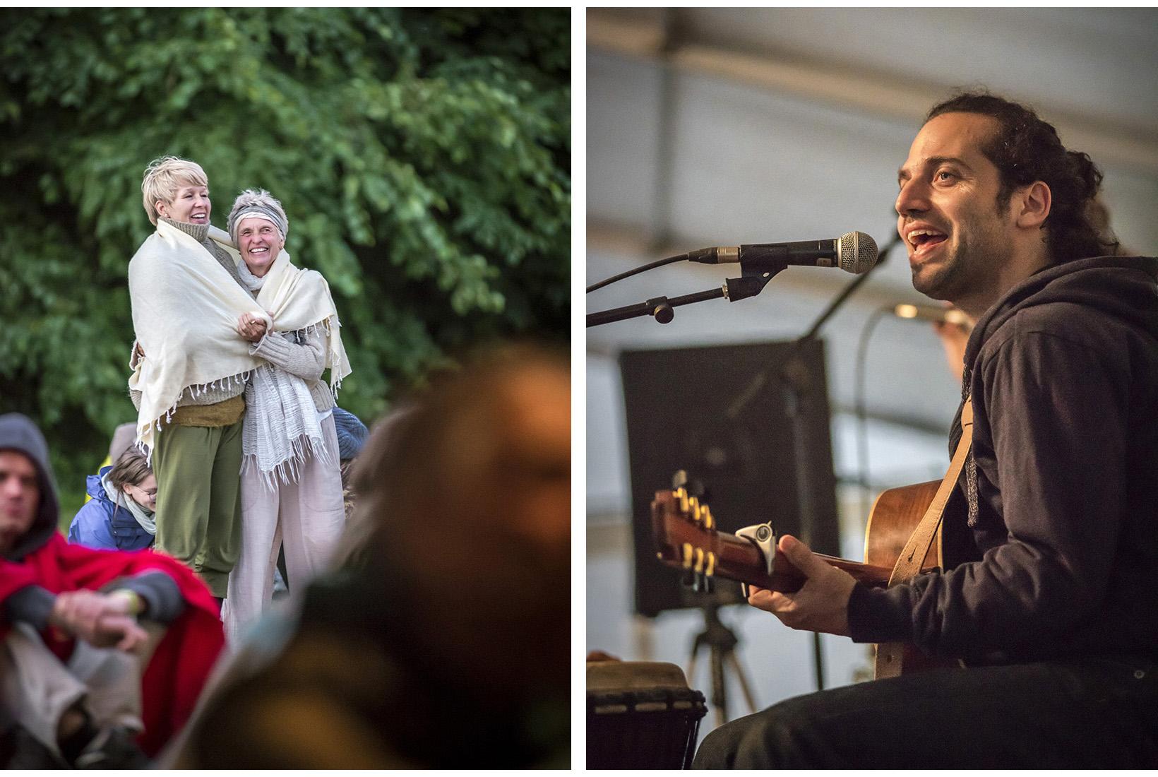 Yoga Love Festival auf der Insel Plauer Werder. Mecklenburg, 16.06.2017