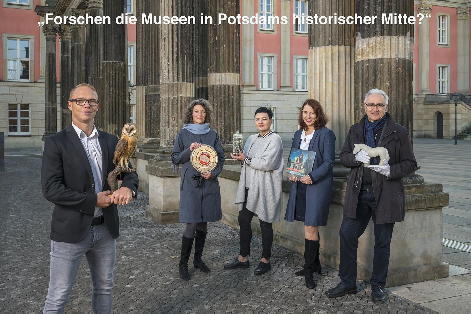 Potsdam Museum, Naturkundemuseum, Filmmuseum, Haus der Brandenburgisch-Preußischen Geschichte