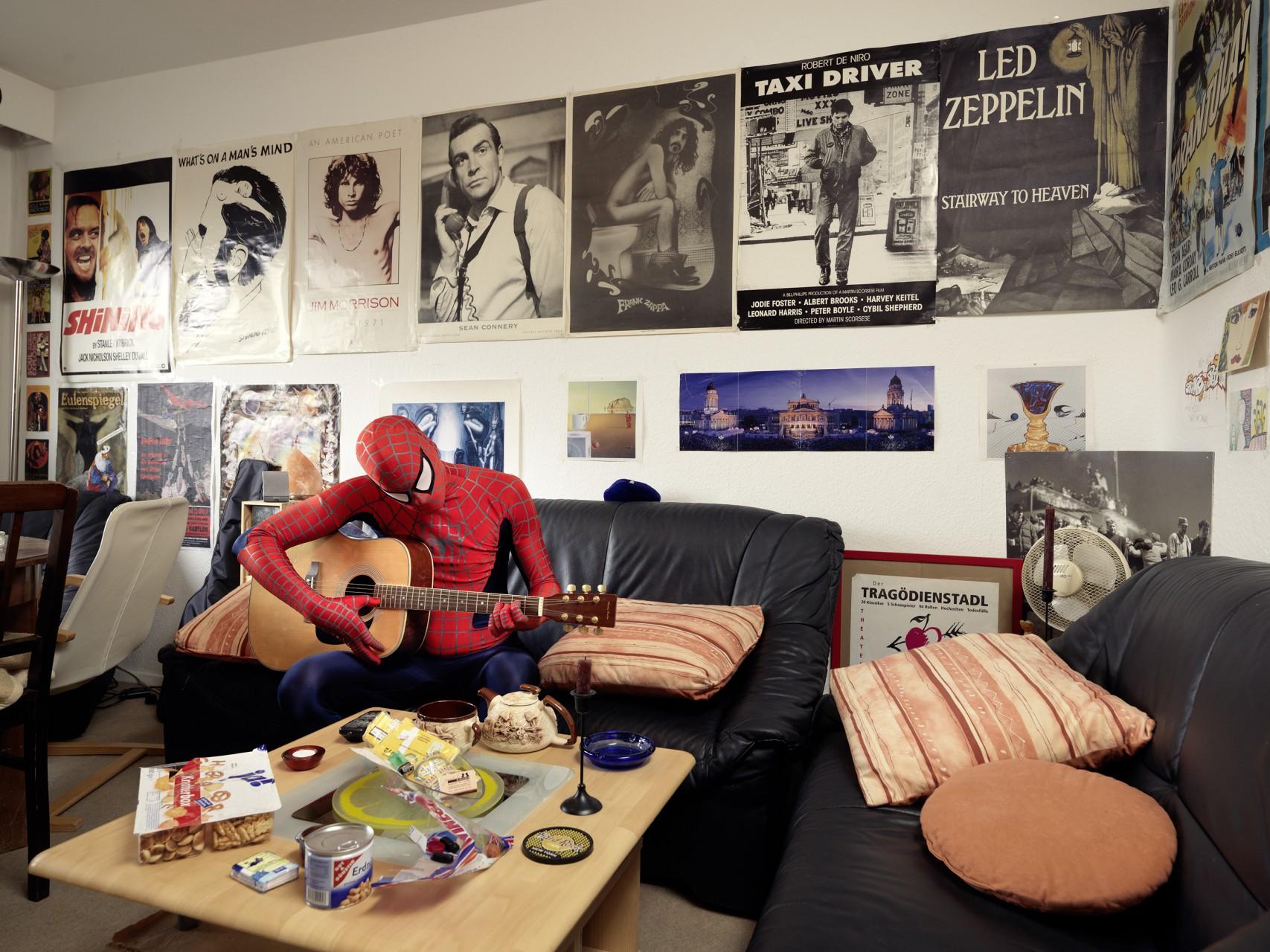 Spiderman Zuhause