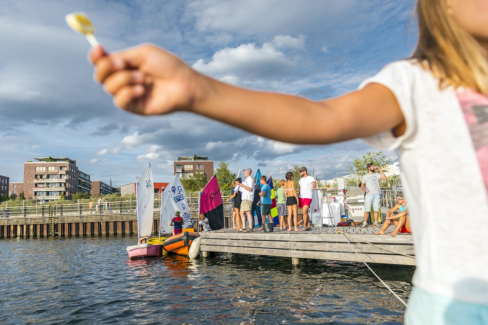 Sommerfest beim Bootsclub Rummelsburg (BCR). Berlin-Lichtenberg, 03.09.2016