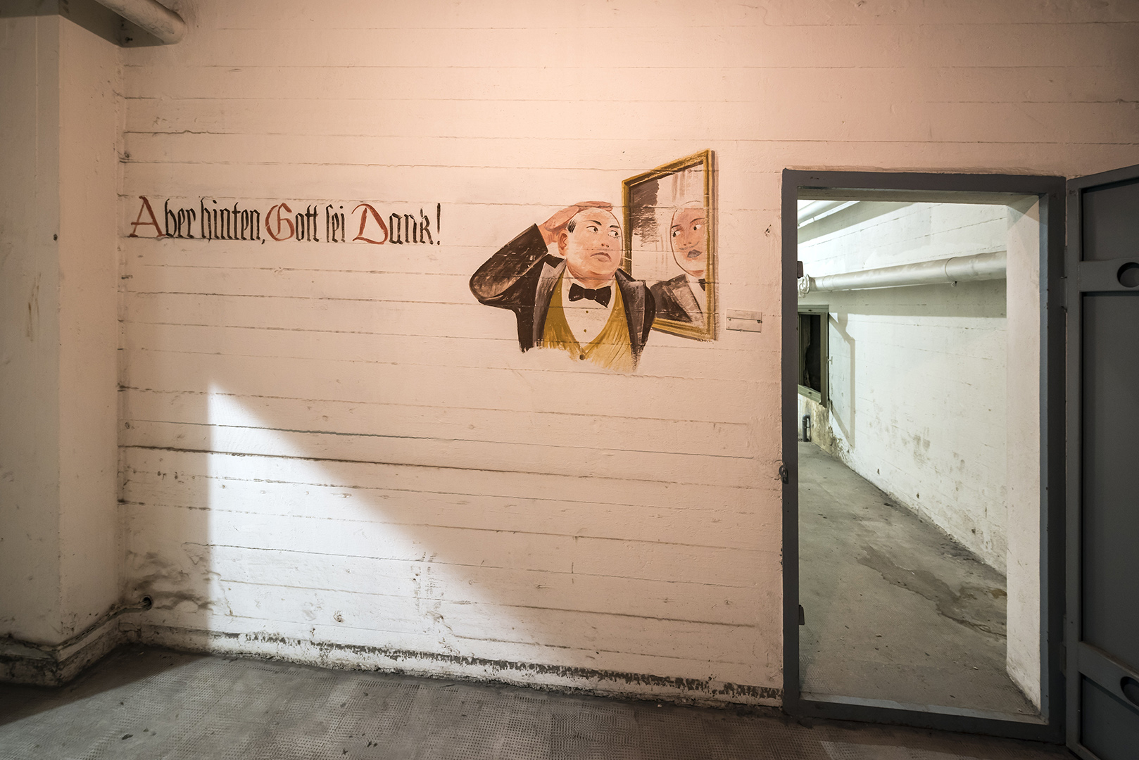 Schutzräume im Keller vom ehemaligen Flughafen Tempelhof. Steht unter Denkmalschutz. Berlin-Tempelhof, 16.01.2017