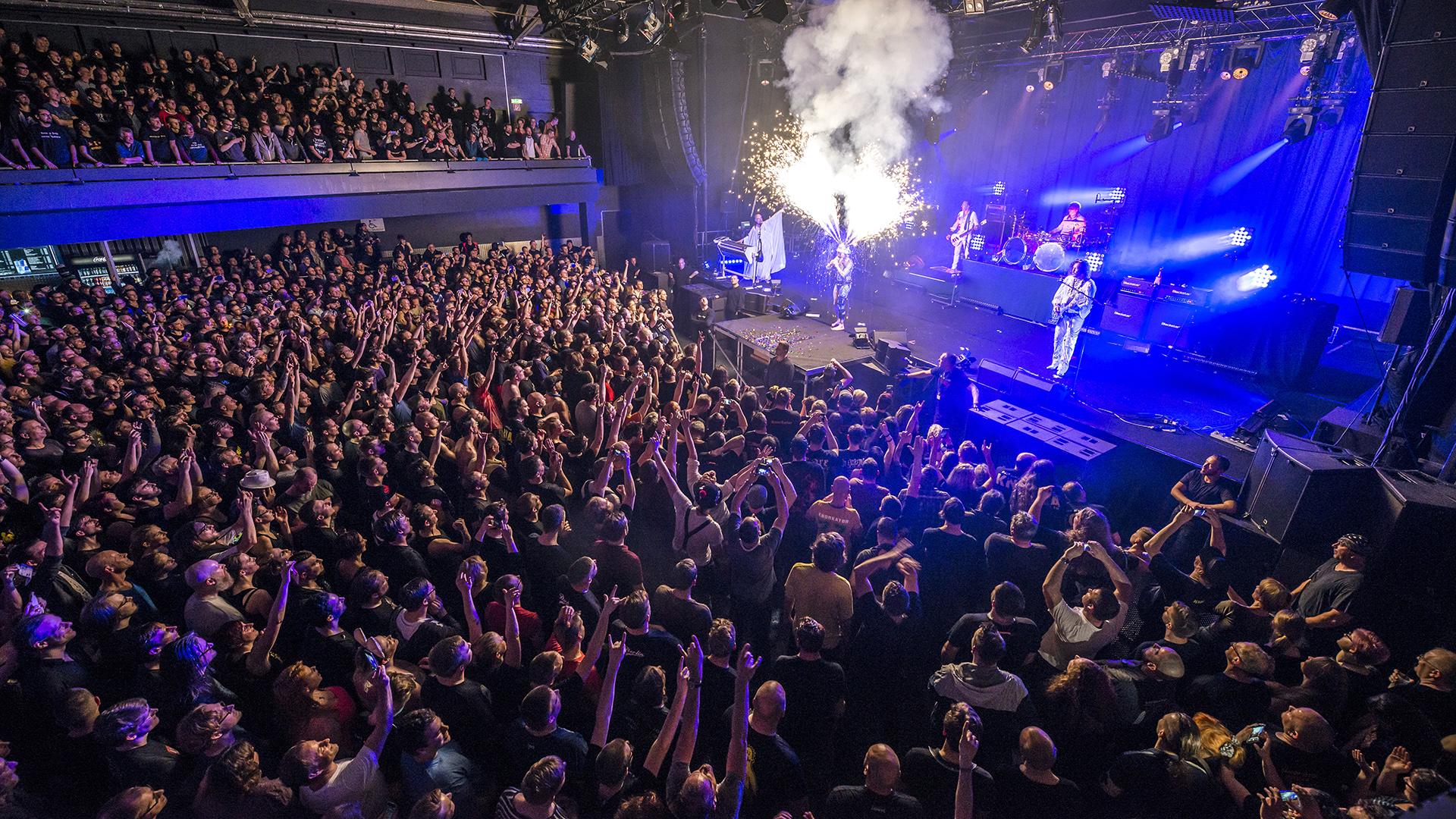 Konzert der Rockband Konorkator in der Columbiahalle. Berlin, 31.03.2017